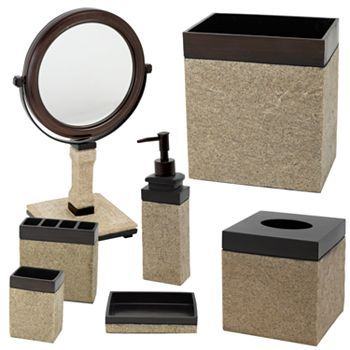 bathroom accessories kohl s