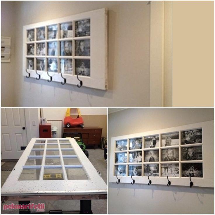 Eski kapıdan resim çerçevesi yapımı | Geri Dönüşüm | Pek Marifetli!