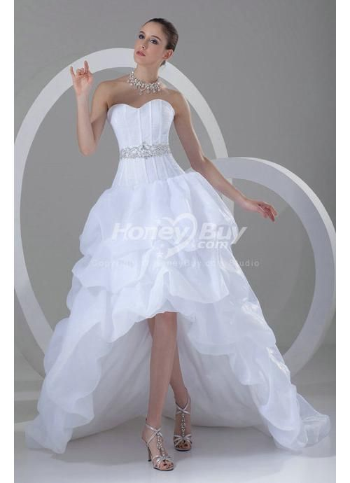 Lovely wedding dresses high low Google Search