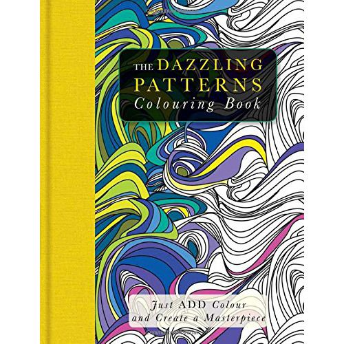 This beautiful colouring book - designed especially for grown-ups - is the perfect way to kill time or distract you from tiresome chores. Inspired by a vast array patterns from across the world. 128 pages by Beverley Lawson
