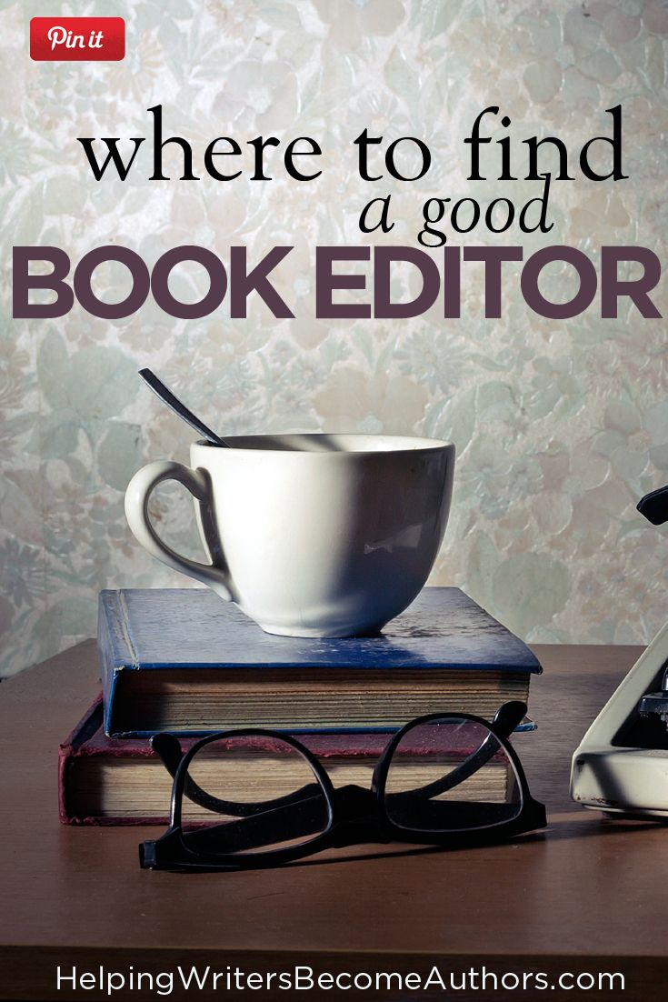 Fiction book editor