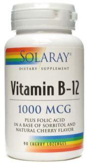 Vit.b12 + Acido Folico 1000Mcg. 90Comp Sublingual. Dos botes (180 pastillas, casi dos años) cuestan 19,76€.