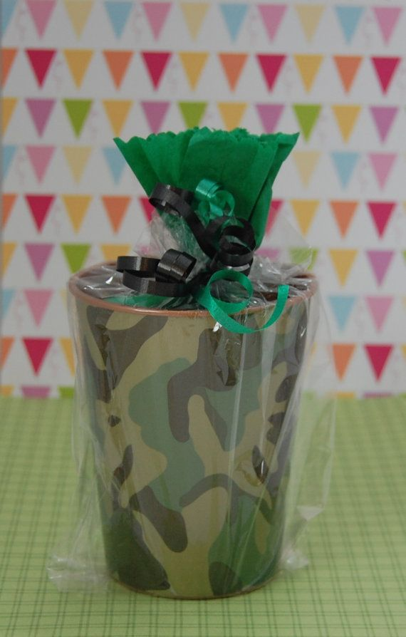 Camo Theme Kids Birthday Party Favors - Kids Goodie Bags - Kids Party Favors Ideas - CALL of DUTY Theme Inspired Party Favors