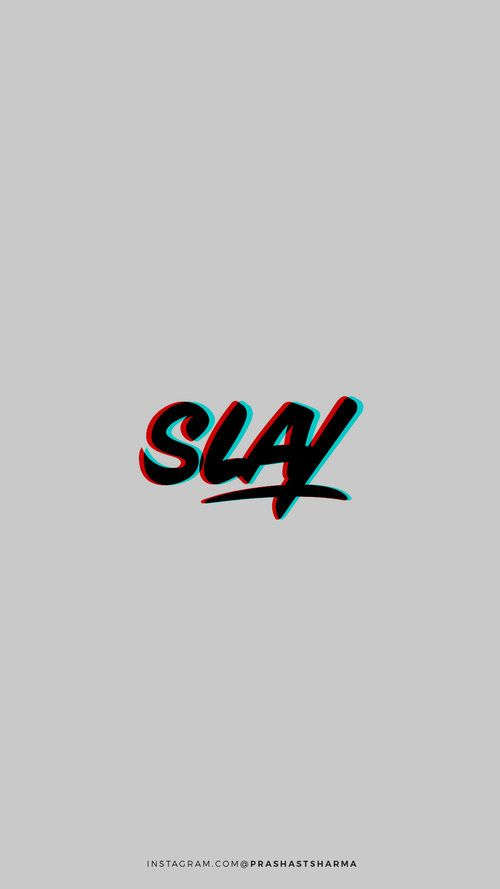 Guest Contributor | SLAY minimal design, Phone Wallpapers + Backgrounds by KAESPO