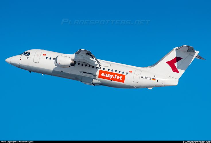 D-AWUE easyJet British Aerospace 146-200