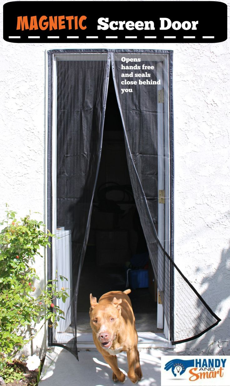 No bugs, pets run free thanks to our premium Magnetic Screen Door. Handy and Smart