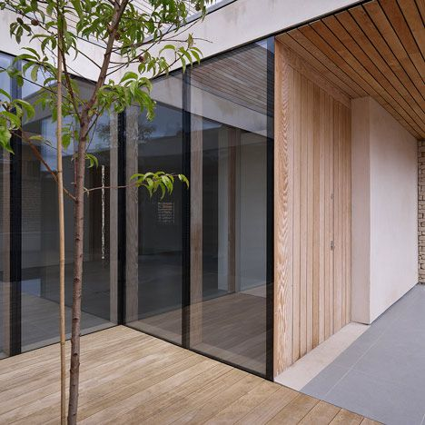 Orchard House by Studio Octopi  Nice corner detail!