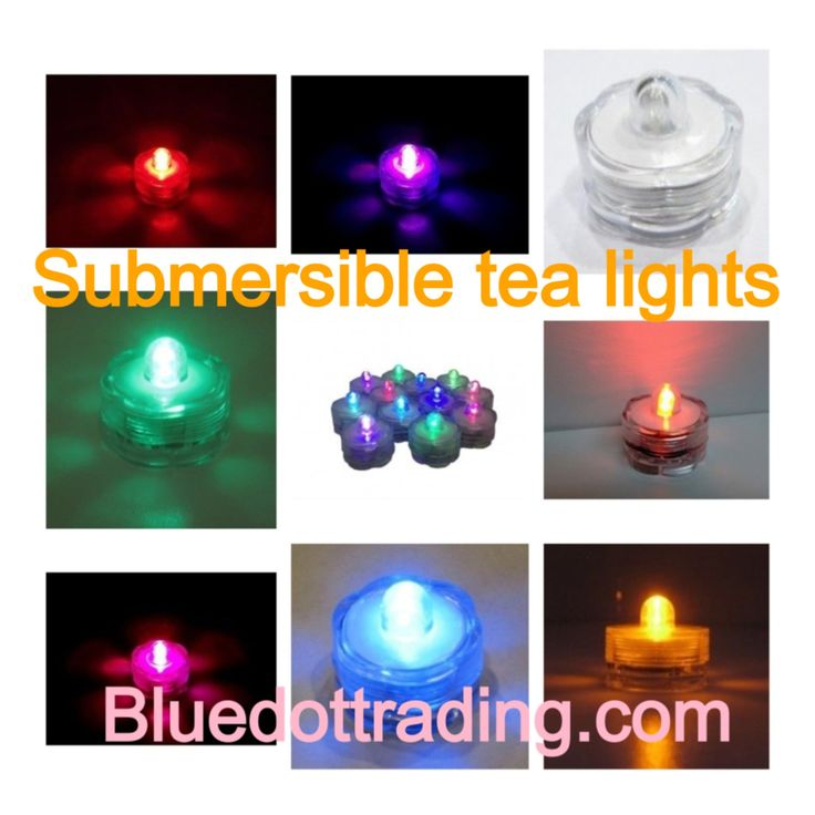 Battery Operated Tea Lights