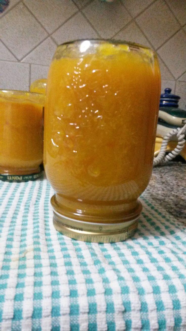 Marmellata di mandarini e zenzero con bucce caramellate