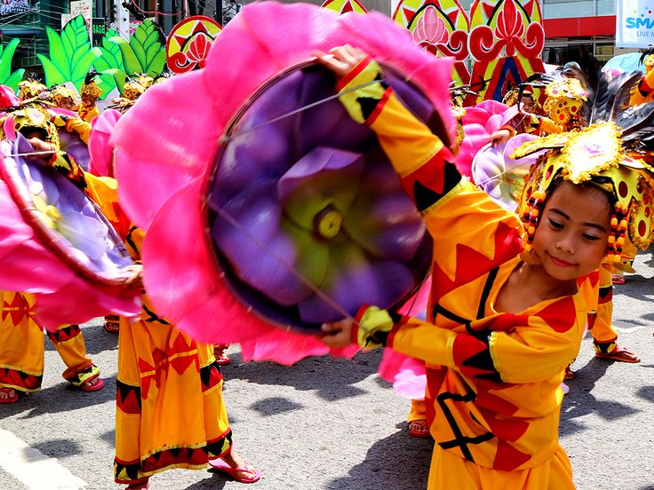 One of Kadayawan Festival's highlights is the Indak-indak sa Kadalanan, a street dancing competition.