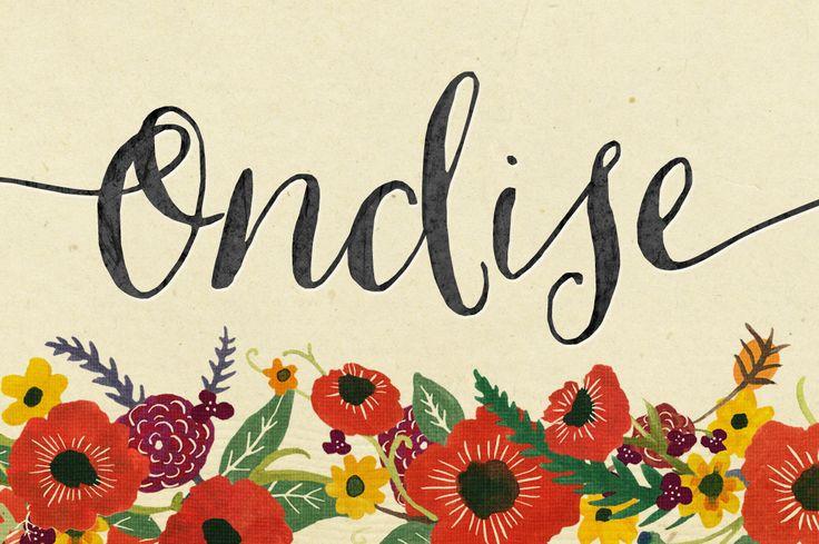Ondise - Fonts - 1