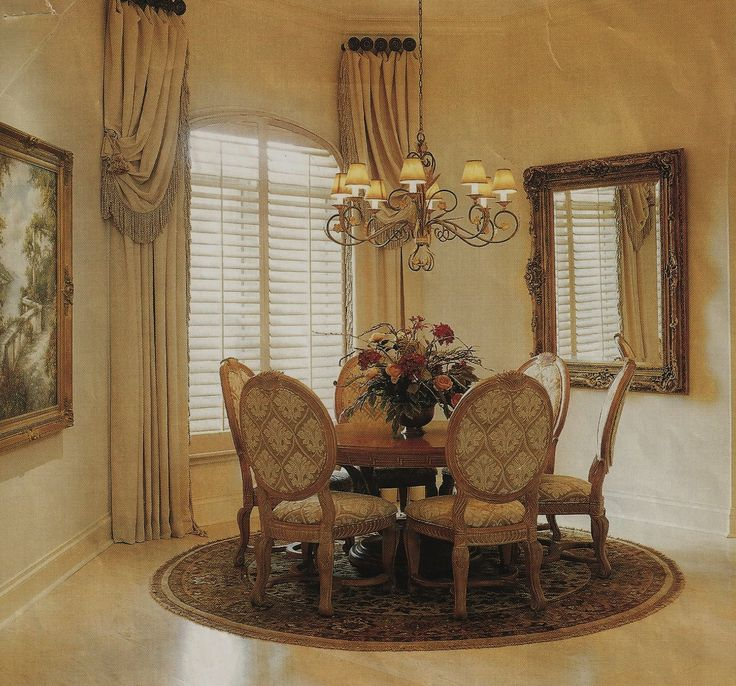 479 best Dining rooms images on Pinterest | Curtains, Tuscan ...