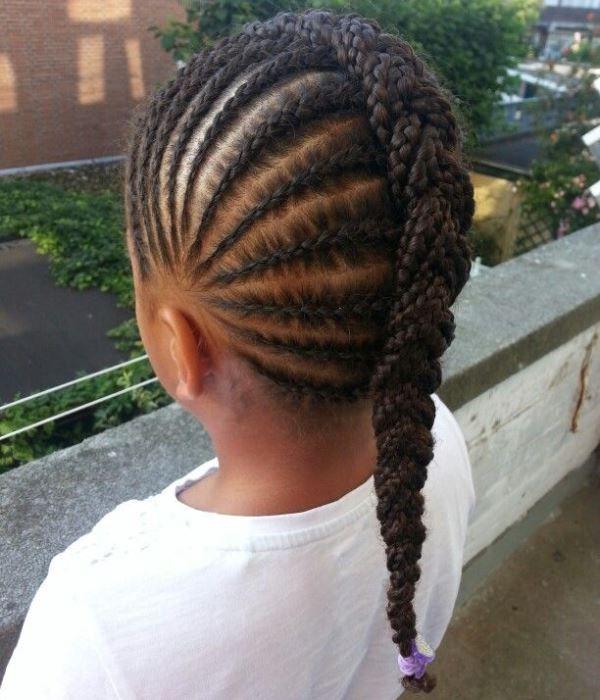 Kids Braided Hairstyles · Black Kids HairstylesLittle Girl ... - Best 25+ Kids Braided Hairstyles Ideas Only On Pinterest Kid