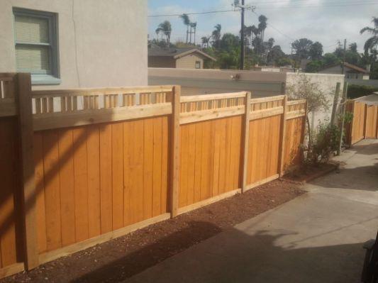 craftsman style fences and gates