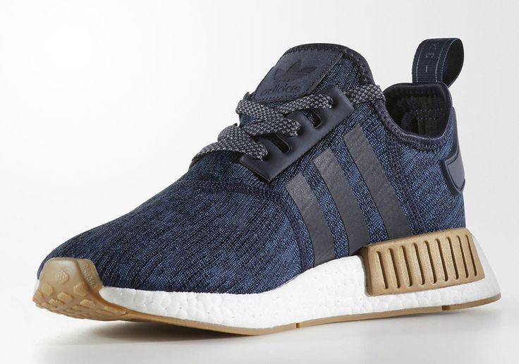 The adidas NMD R1 Legion Ink (Style Code: CQ0859) will release Summer 2017 featuring new gum midsole bumpers with a unique blue upper. Details: