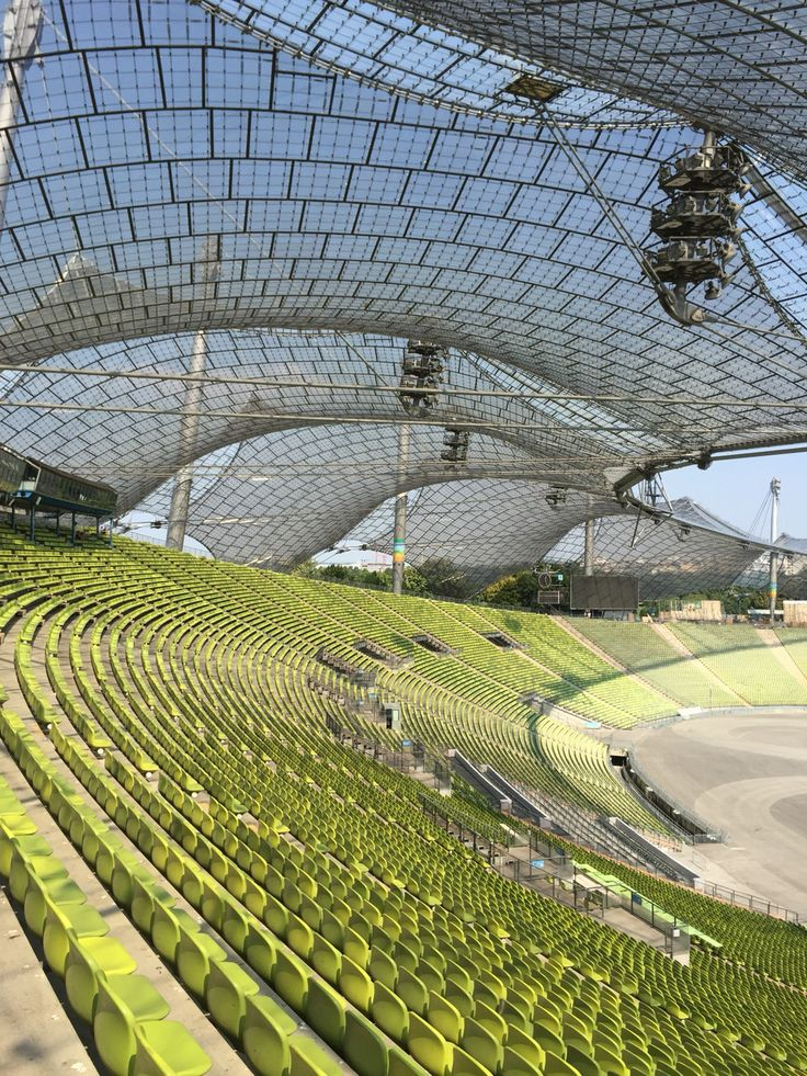 Olympiastadion (Munich Olympic Stadium), in Munich, Germany (AUG/2015)