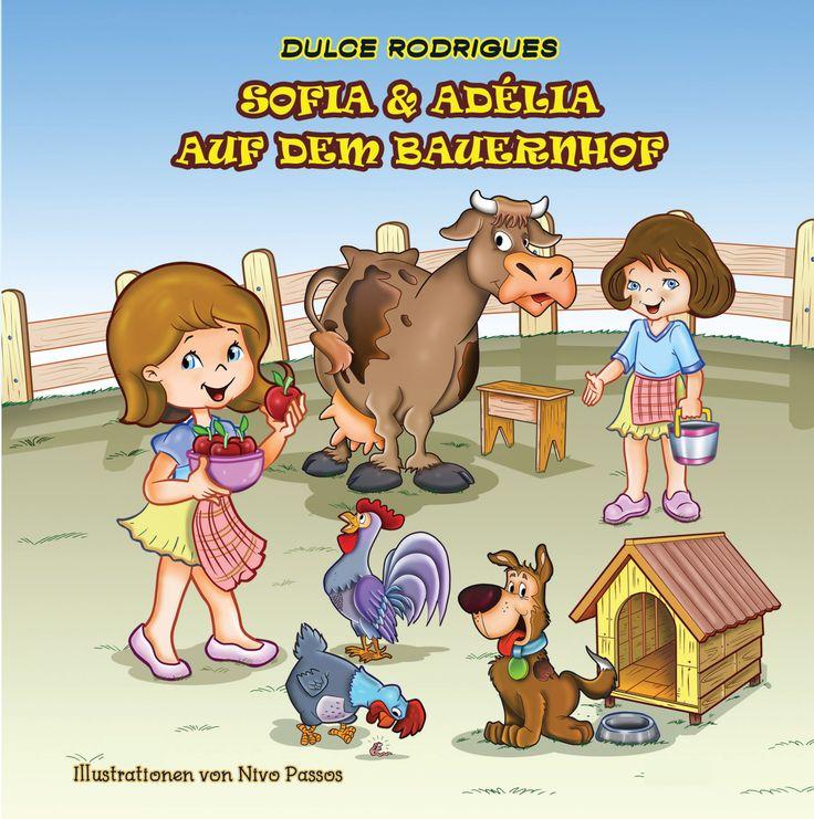 Sofia und Adélia haben einen Bauernhof wo viele Nutztiere leben. Komm mit Sofia und Adélia auf den Bauernhof und erlebe die Haustiere. Lerne auch über die Stimme der Bauernhoftiere.