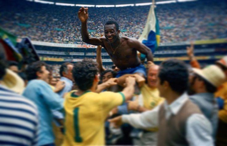"""Hoy hace 47 años, Pelé, con 29 años, ganaba su tercer Mundial, en México 1970. """"Antes del partido,…"""""""