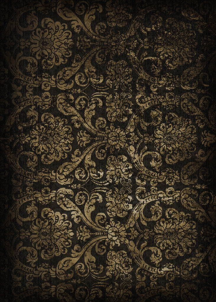 Haunting and beautiful old black wallpaper my style for Gold 3d wallpaper