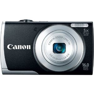 Amazon is offering Canon PowerShot A2600 + 4GB Card + Case Rs. 4750 (SBI Credit Cards) or Rs. 5278.
