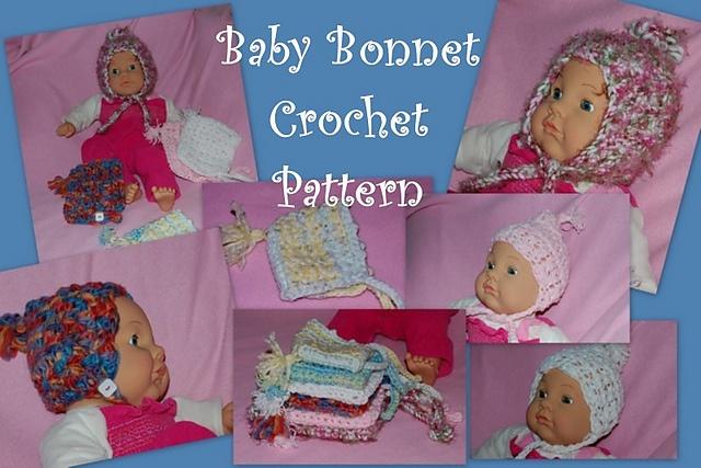 226 besten crochet baby/toddler bonnets/hats Bilder auf Pinterest ...