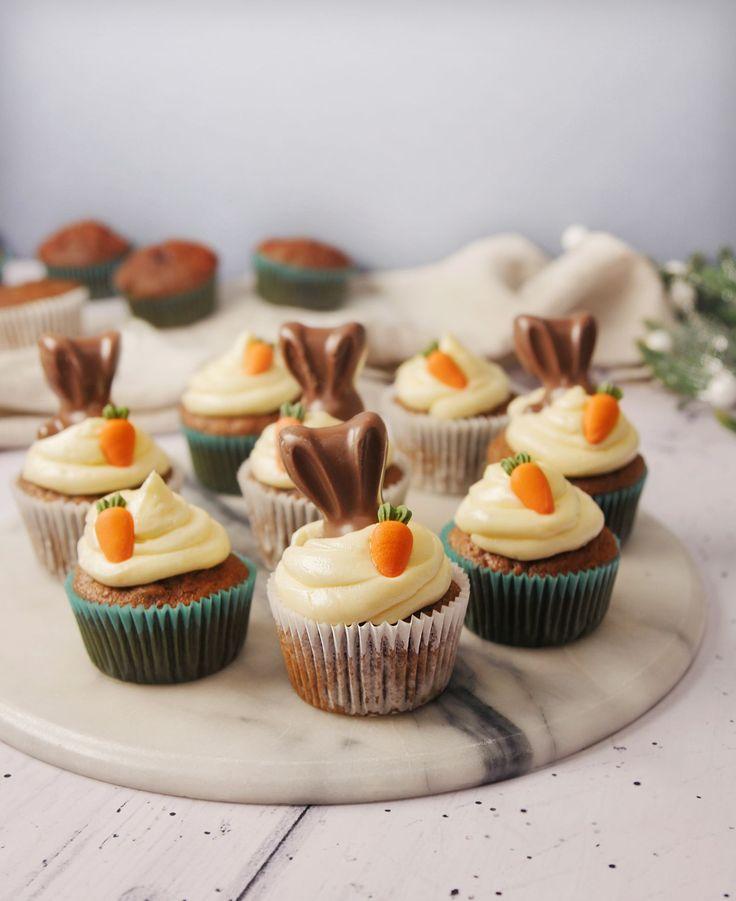Carrot cake cupcakes recipe easter cupcake recipes