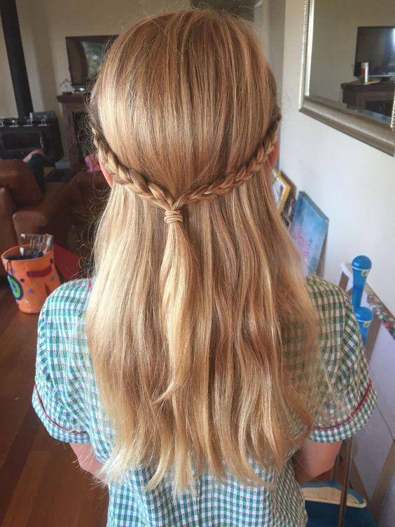#die #einfachen Frisuren für Kinder #craps # für # Mädchen # die süßesten, #die #einfachen #f