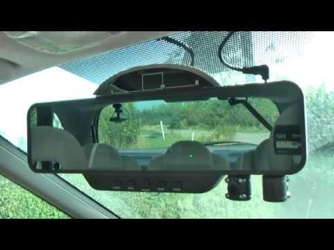 CAR REAR VIEW MIRROR DUAL CAMERA REVIEW - YouTube