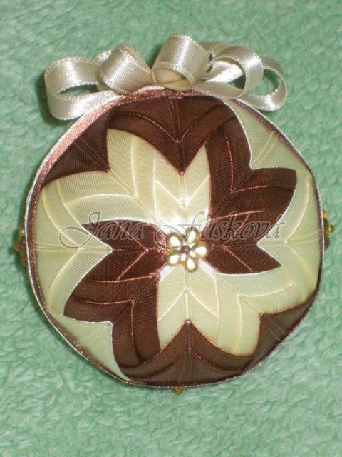Béžovo-hnedá 8 cm