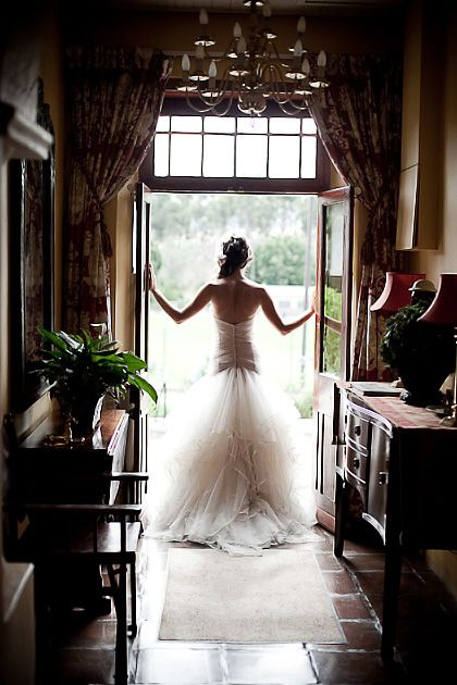 Every Bride should have a picture taken like this!