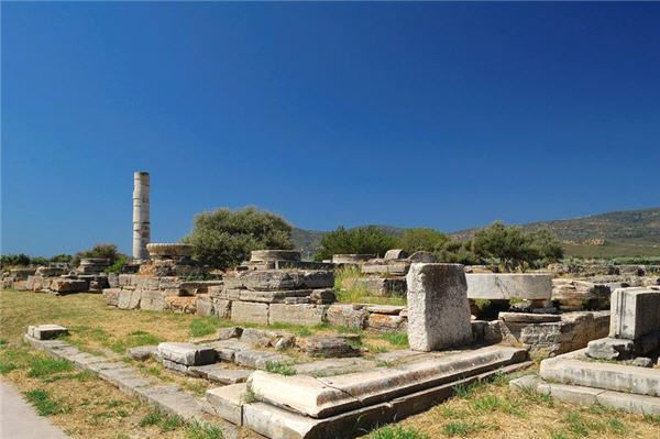 The Temple of Hera (Heraion), Samos