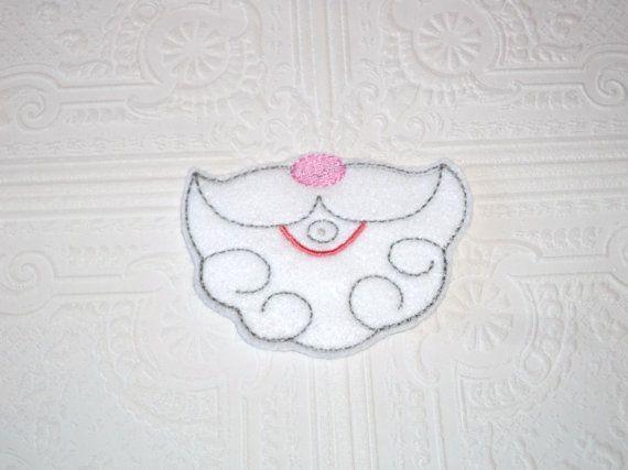 Santa Mouth  Lollipop Holder  Sucker Holder  by MacAndRoniDesigns