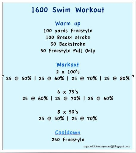 Need a new type of workout, let's HIIT the pool. Try our high intensity interval swimming workout!
