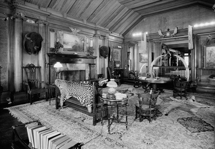 Victorian Trophy Room Victorianesque Rooms Pinterest
