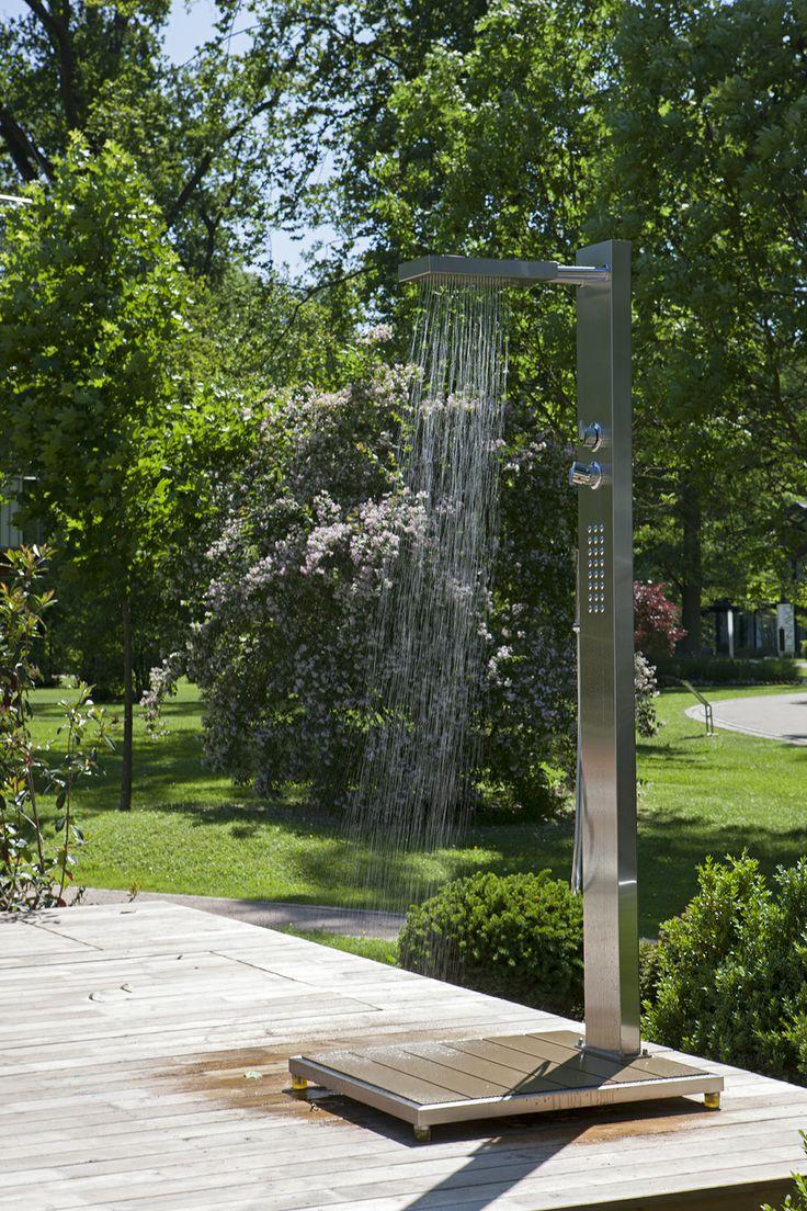 Ideen Gartendusche Design Erfrischung: Bauen