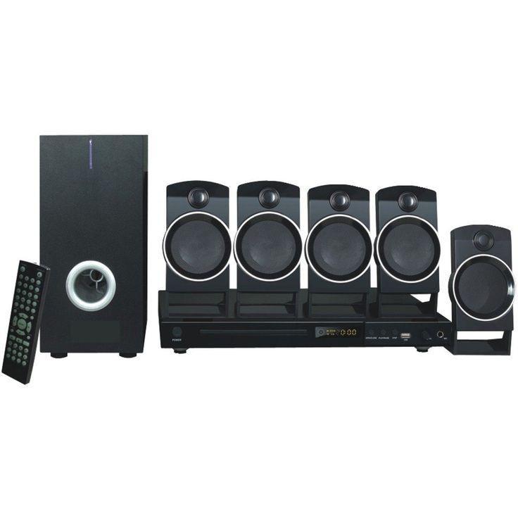 Naxa 5.1-Channel Dvd & Karaoke Entertainment System