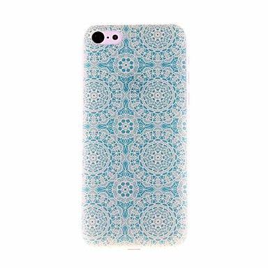 Light Blue Paper-cut Patroon PC Hard Case voor iPhone 5C  – EUR € 2.87