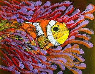 Batik Clown Fish