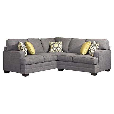 Custom Designed L-Shaped Upholstered Sectional