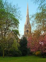 Pimlico -St Gabriel's, Warwick Square, is an Anglo-Catholic church in Pimlico. It lies within the Deanery of Westminster within the Diocese of London. Wikipedia Architectural style: English Gothic architecture Architect: Thomas Cundy Wikipedia, the free encyclopedia