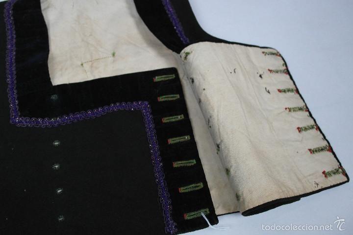 Antigüedades: Chaleco de escote cuadrado - Foto 3 - 57919434