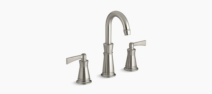 Featuring an ADA-certified lever handles and water-saving flow rate, the K-11076-4 faucet brings conservation and subtle style to your bath or powder room.