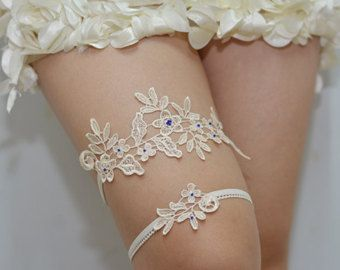 giarrettiera da sposa bianco giarrettiera in pizzo bianco