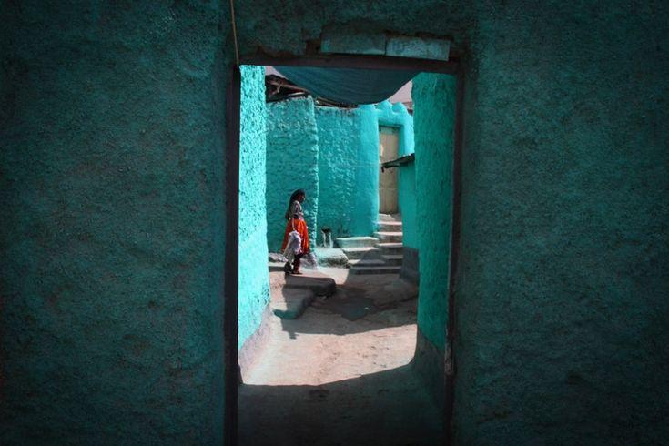 Στο μπλε της Harar, Αιθιοπία.  ©Pascal Mannaerts