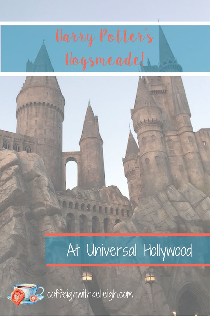 Harry Potter World at Universal Studios Hollywood based on the books of J.K. Rowling and including Ollivander's wand shop ad the wands of Hermione Granger, Ron Weasley and even Lord Volemort aka He Who Must Not Be Named.