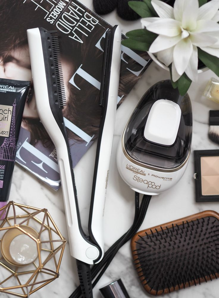 Are SteamPods The New GHDs? Swapping Heat For Steam With The L'Oreal SteamPod Straightening Tool | London Beauty Queen