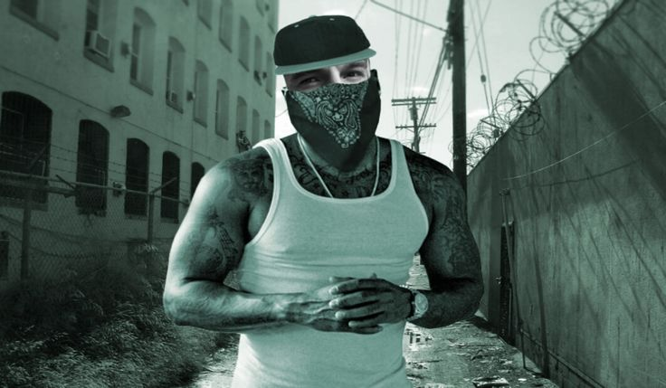 Want to look tough? Make yourself dangerous! Try Insta Gangsta face in hole now!