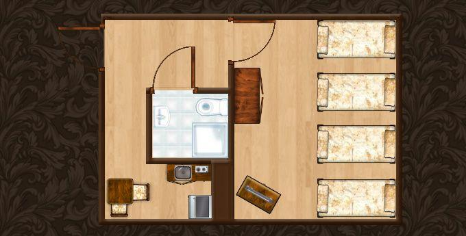 Sprawdź jak wygląda struktura Apartamentu Miodowy XIII. Więcej informacji o apartamencie znajdziecie Państwo pod adresem http://apartamenty-florian.pl/krakow