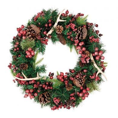 Une couronne toute simple de Noël - Fêtes - Inspirations - Décoration et rénovation - Pratico Pratique