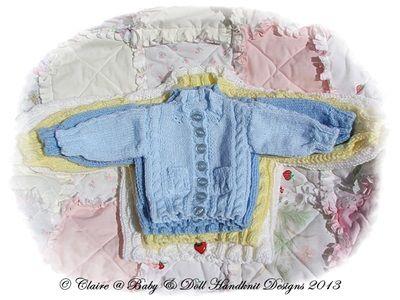 Roundneck & V-cuello rebecas 12-18 pulgadas 15-26 pulgadas del pecho de la muñeca / bebé prematuro-6 meses bebé-